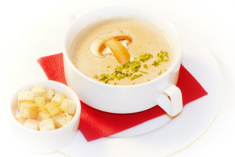 Первое блюдо - «Суп грибной»