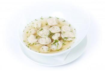 Первое блюдо - «Суп с пельменями»