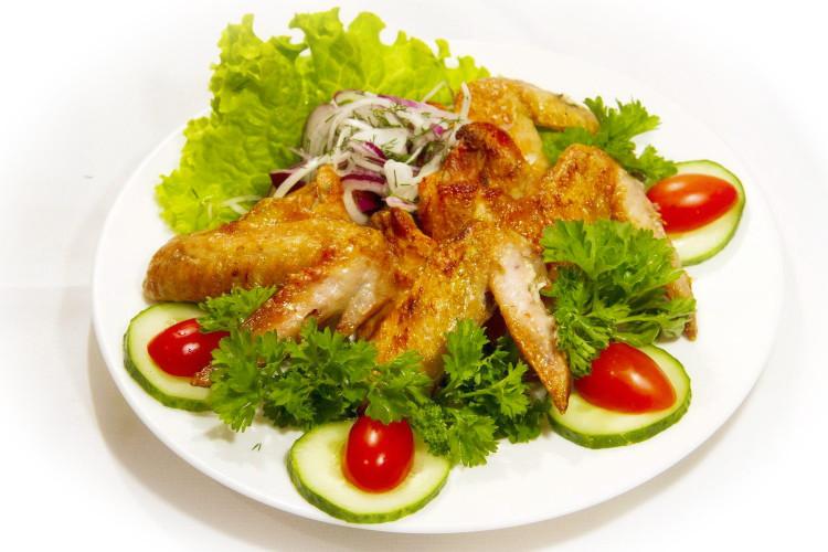 Блюдо на второе - «Куриные крылышки»
