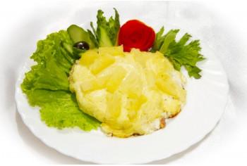 Блюдо на второе - «Курица с ананасом»