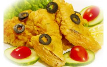 Блюдо на второе - «Филе куриное в кляре»