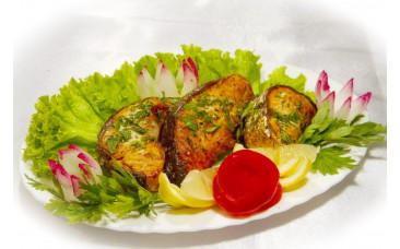 Блюдо из рыбы - «Шашлык из сёмги»
