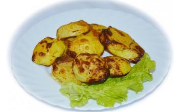 Горячий гарнир - «Картофель в тандыре»