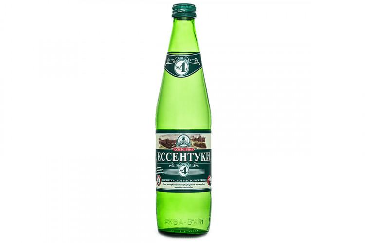 Холодный напиток - «Минеральная вода «Есентуки №4»