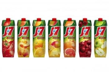 Холодный напиток - «Сок J7 в ассортименте»