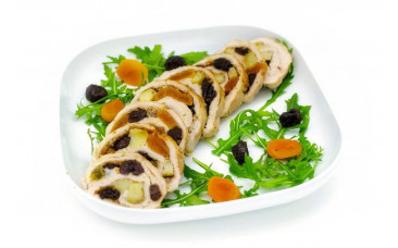 Холодная закуска - «Руляда из курицы»