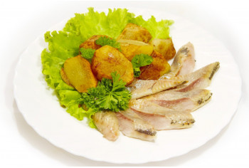 Холодная закуска - «Селёдка с картошечкой»