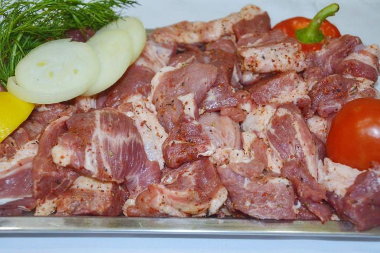 Маринованное мясо - «Шейка свинины» (для шашлыка)