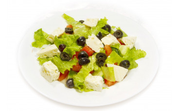 Салат овощной - «По гречески»