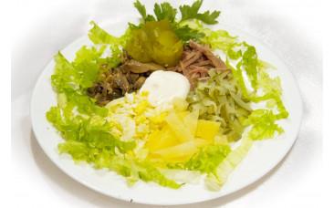 Салат мясной - «Экзотика»
