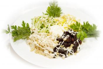 Салат мясной - «Коктейль с черносливом»