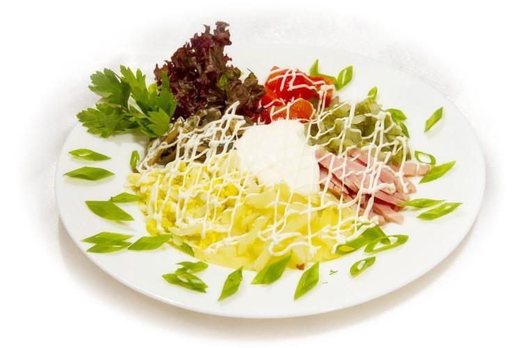 Салат мясной - «Русский»