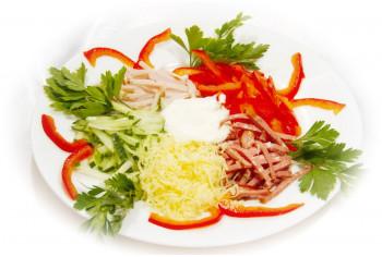 Салат мясной - «Смак»